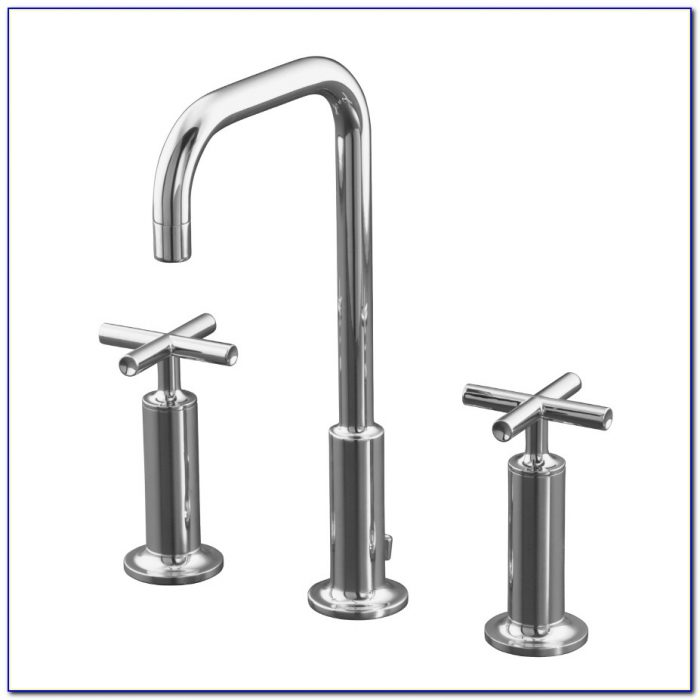 Kohler Purist Wall Mount Bathroom Faucet