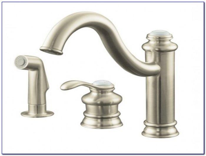 Kohler Single Handle Kitchen Faucet Leaking At Base