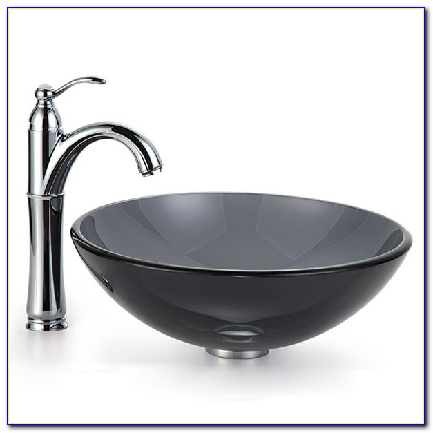 Kraus Vessel Sink And Faucet Combo