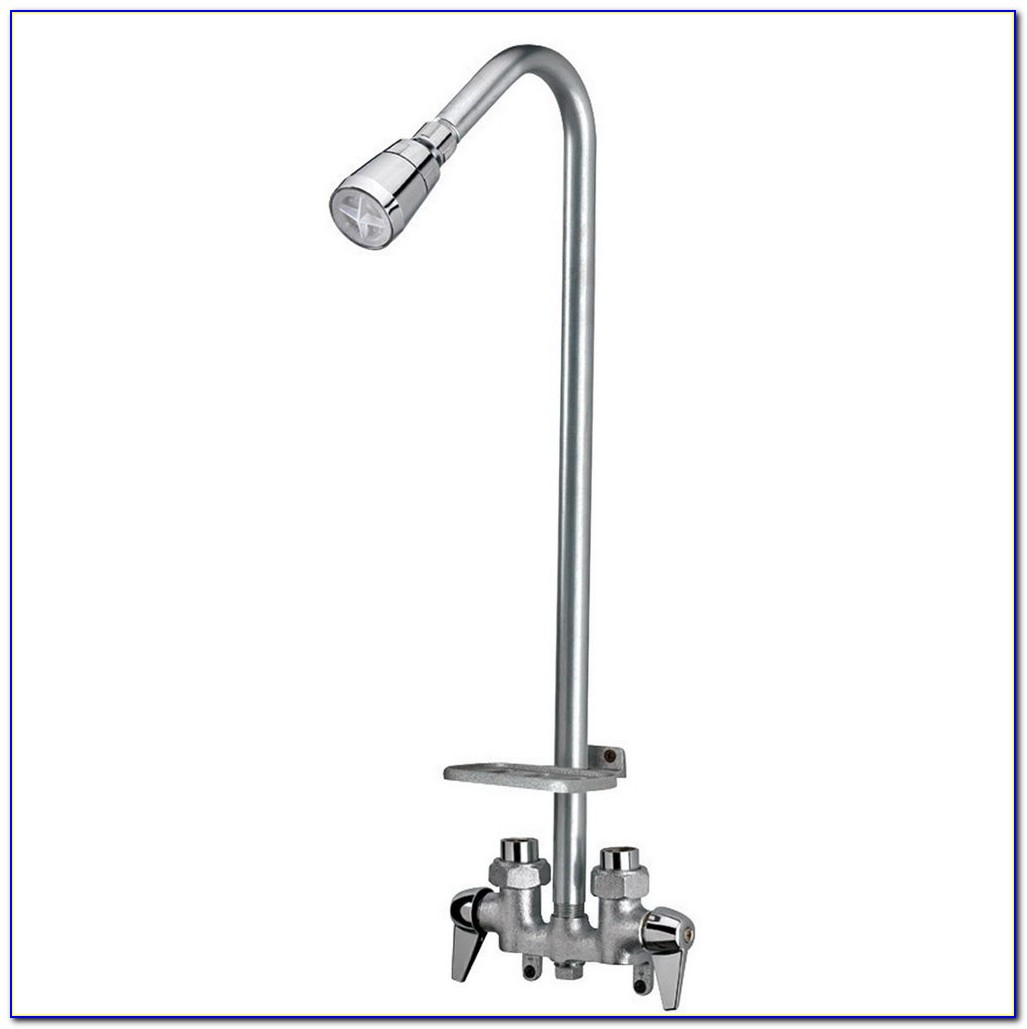 Laundry Room Sink Faucet With Sprayer