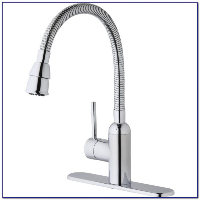 Laundry Room Faucet With Sprayer