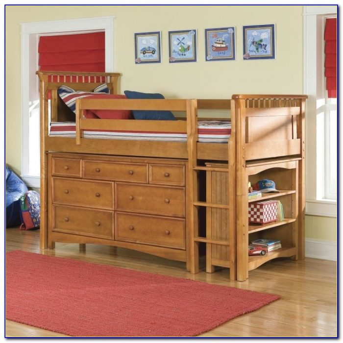 Loft Beds With Dressers Underneath
