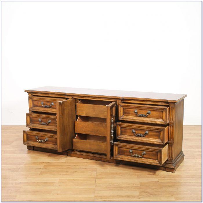 Mid Century Modern Tallboy Dresser