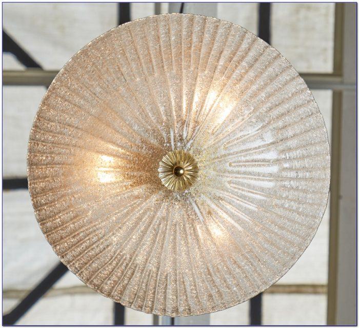 Mid Century Murano Glass Ceiling Light