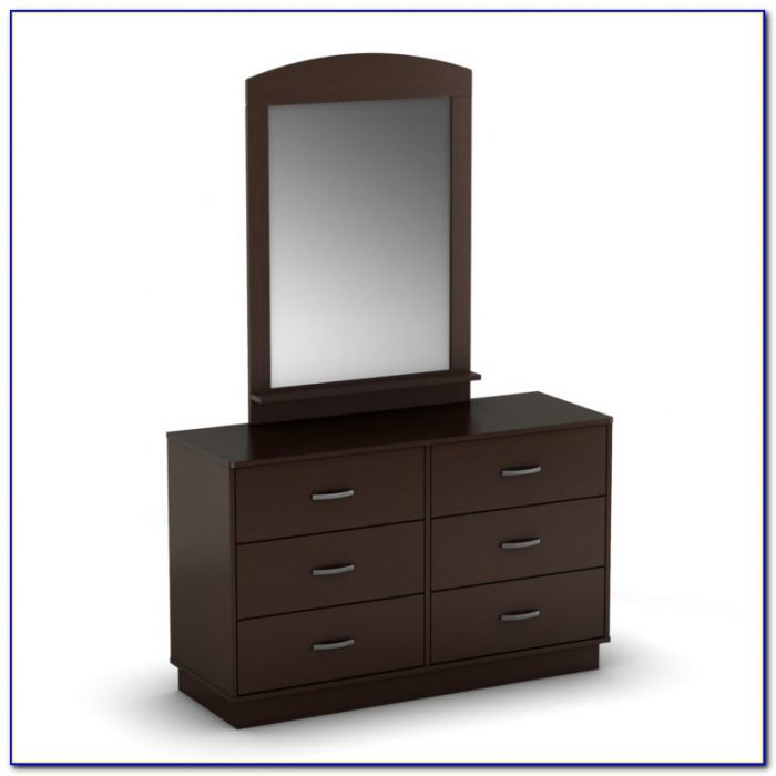 Modern Bedroom Dresser With Mirror