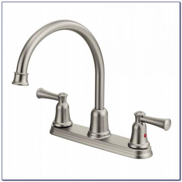 Moen 2 Handle Kitchen Faucet Diverter
