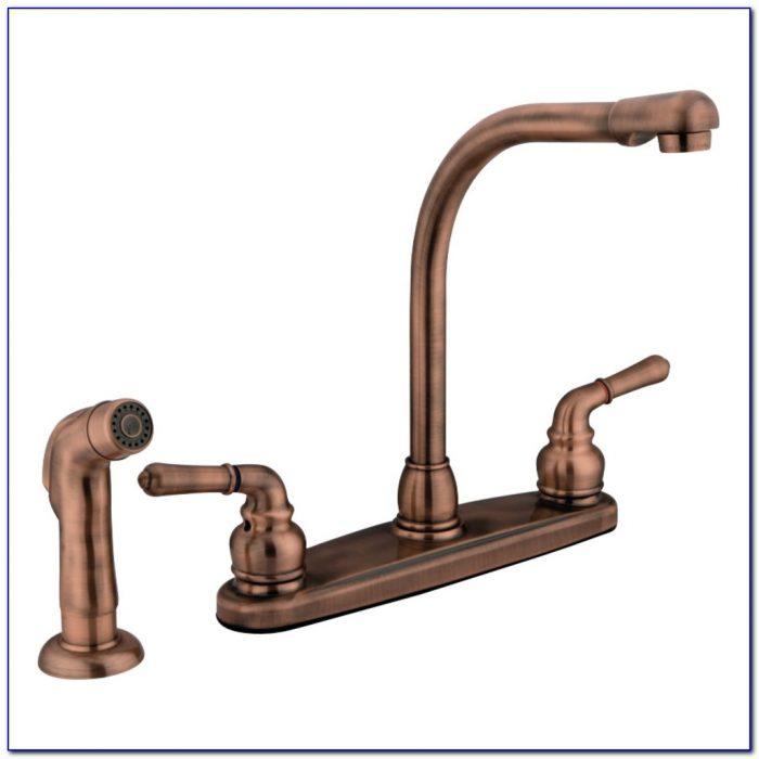 Moen Antique Copper Kitchen Faucet