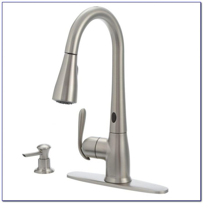 Moen Kitchen Faucets With Soap Dispenser Moen Kitchen Faucets With Soap Dispenser Moen Haysfield Single Handle Pull Down Sprayer Touchless Kitchen 1000 X 1000