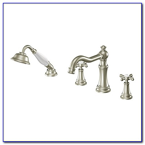 Moen Roman Tub Faucets With Hand Shower