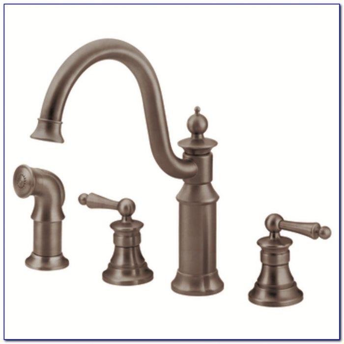 Moen Rubbed Bronze Kitchen Faucet