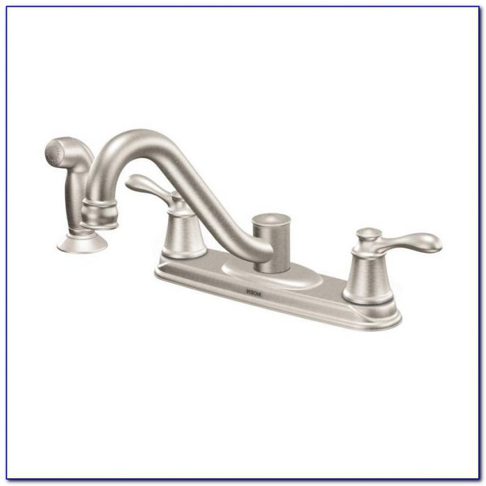 Moen Two Handle Kitchen Faucet Leaking At Base