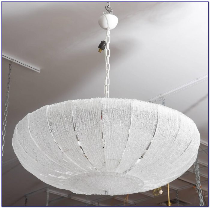 Murano Glass Flush Ceiling Light