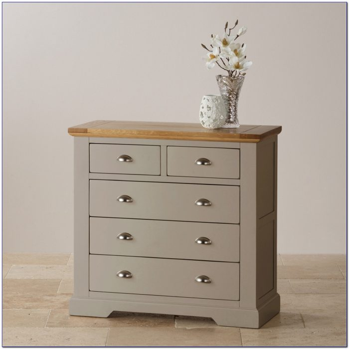 Oak Dresser And Chest Of Drawers
