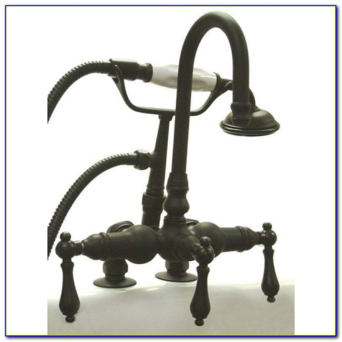 Oil Rubbed Bronze Clawfoot Tub Faucet