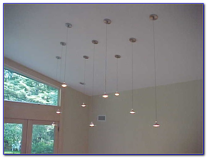 Pendant Lighting For Cathedral Ceilings