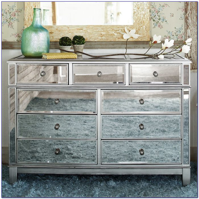 Pier 1 Hayworth Mirrored Dresser