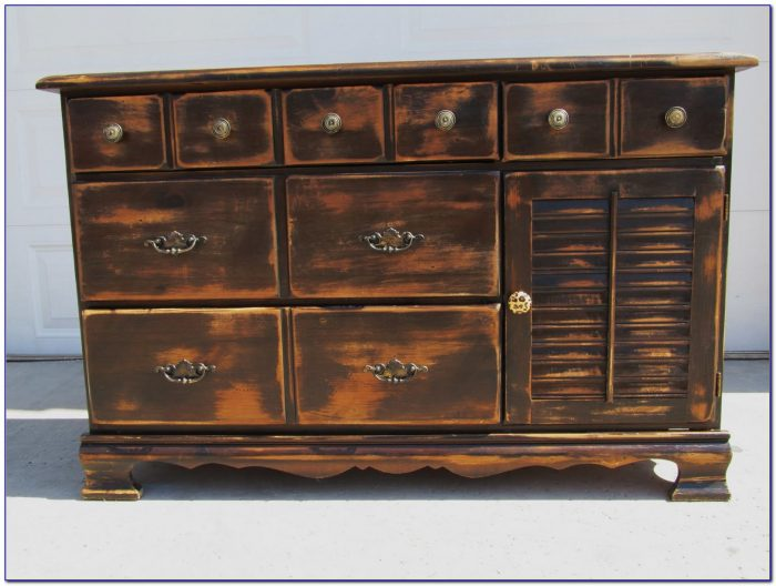 Rustic Dressers And Chests