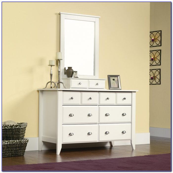 Sauder Shoal Creek Dresser White