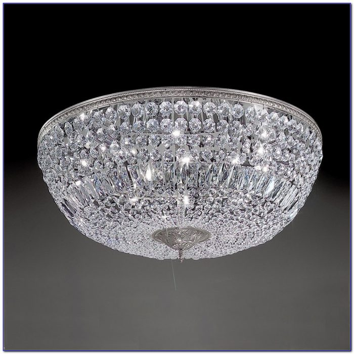 Semi Flush Ceiling Lights Crystal