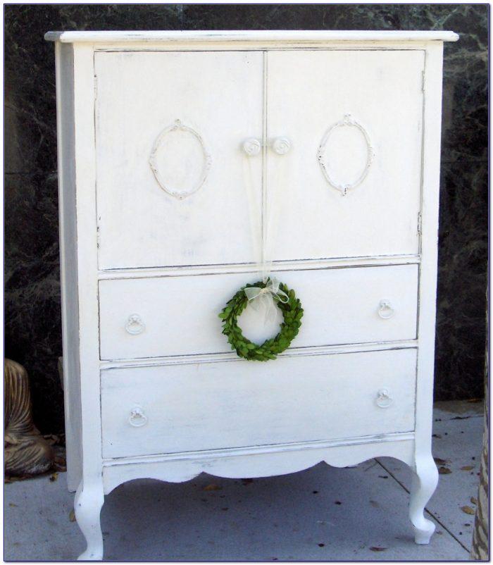 Shabby Chic Off White Dresser