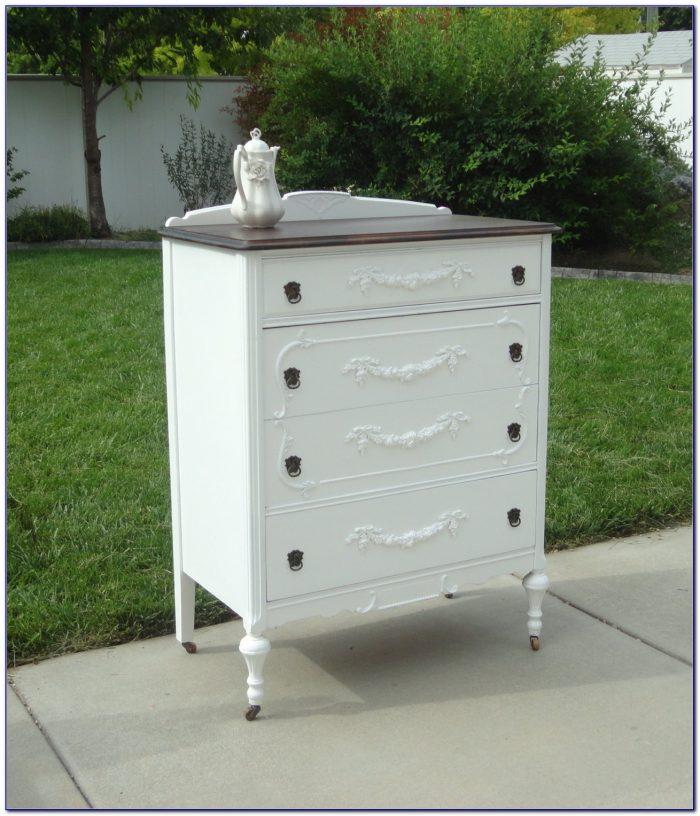 Shabby Chic White Welsh Dresser
