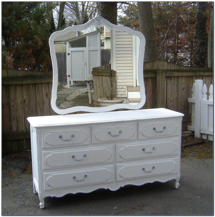 Simply Shabby Chic White Dresser