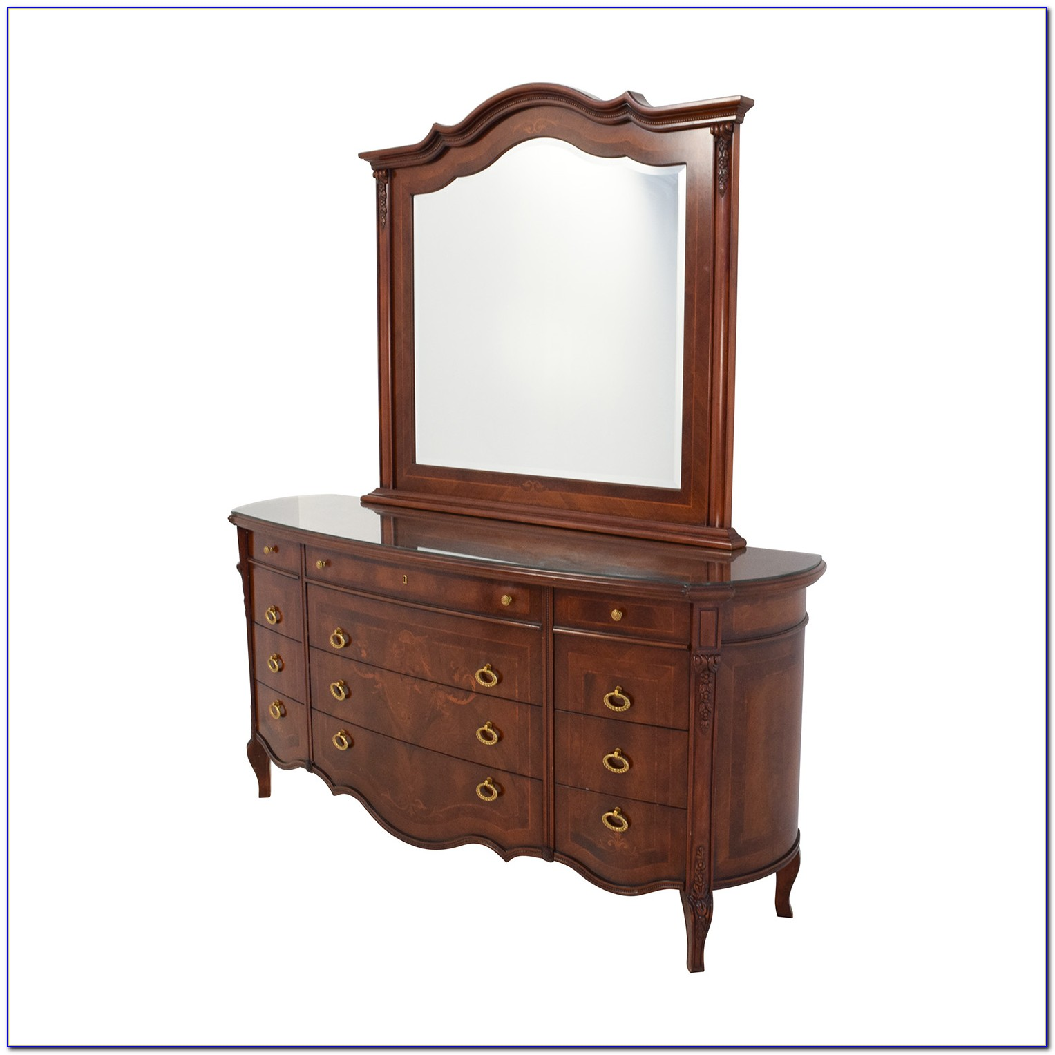 Small Wooden Dresser With Mirror