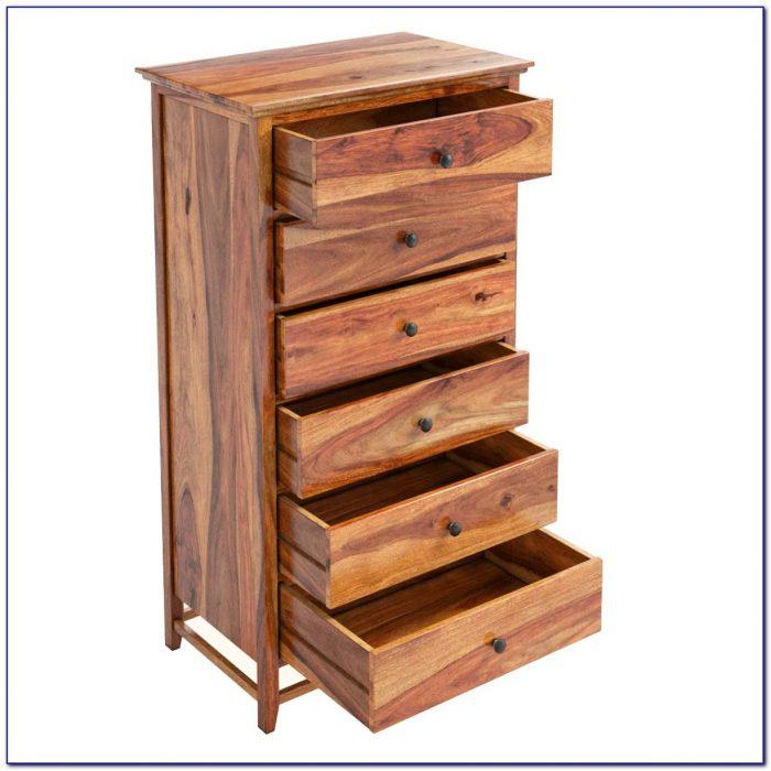 Solid Wood Narrow Dresser