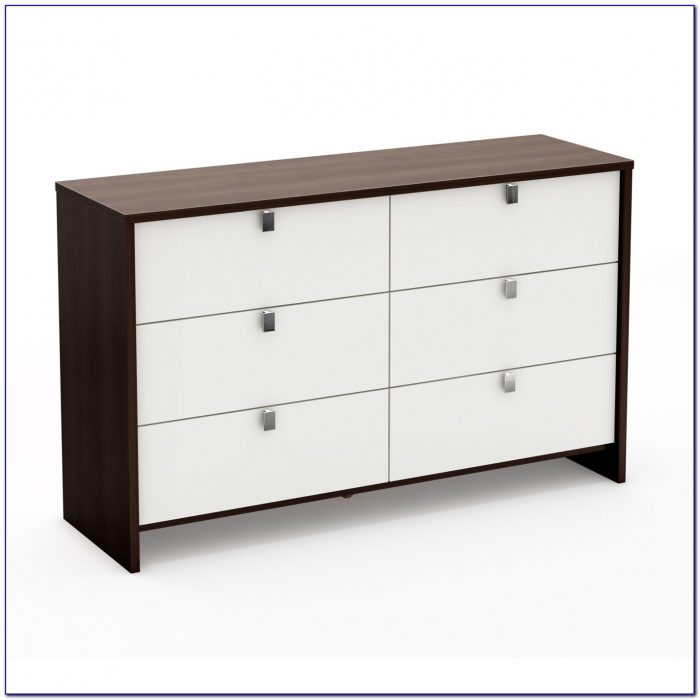 South Shore 6 Drawer Dresser White