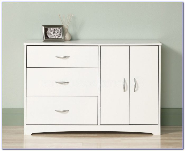 South Shore Vito 6 Drawer Dresser White