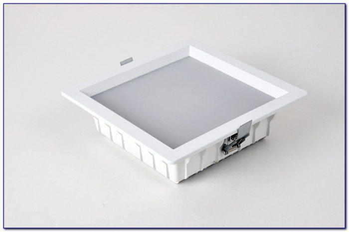 Square Recessed Led Ceiling Light Fixture