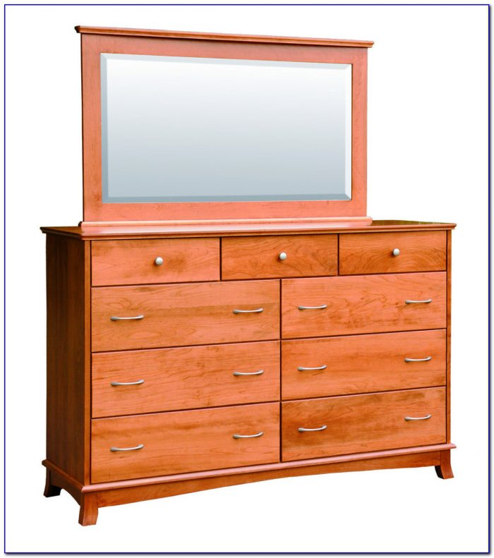 Tall Dresser With Mirror Door