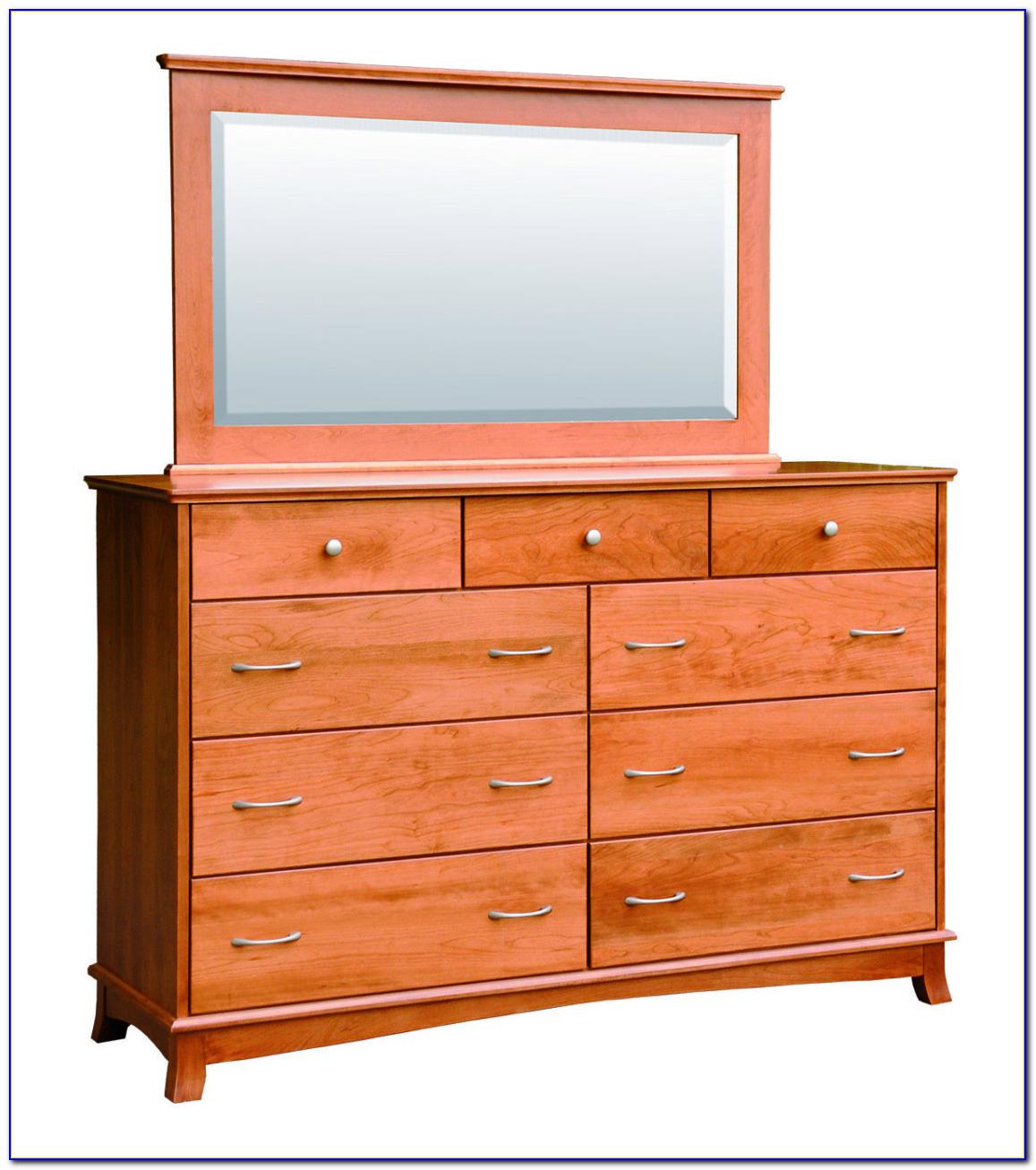 Tall Dresser With Mirror Door