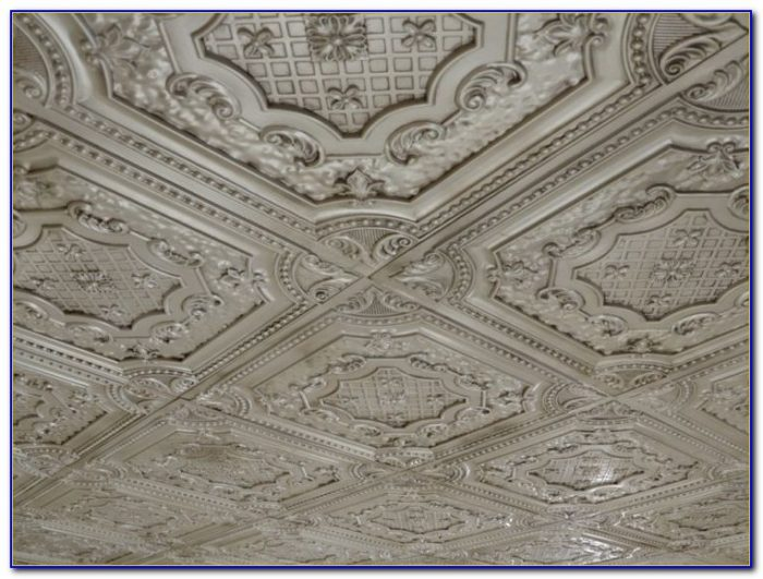 Tin Ceiling Tiles For Kitchen Backsplash