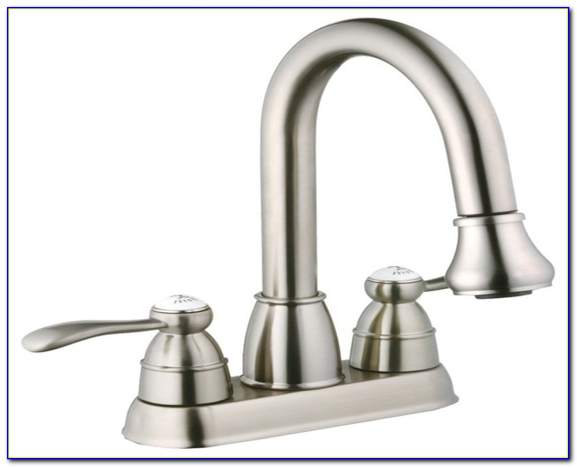 Utility Sink Faucet With Sidespray