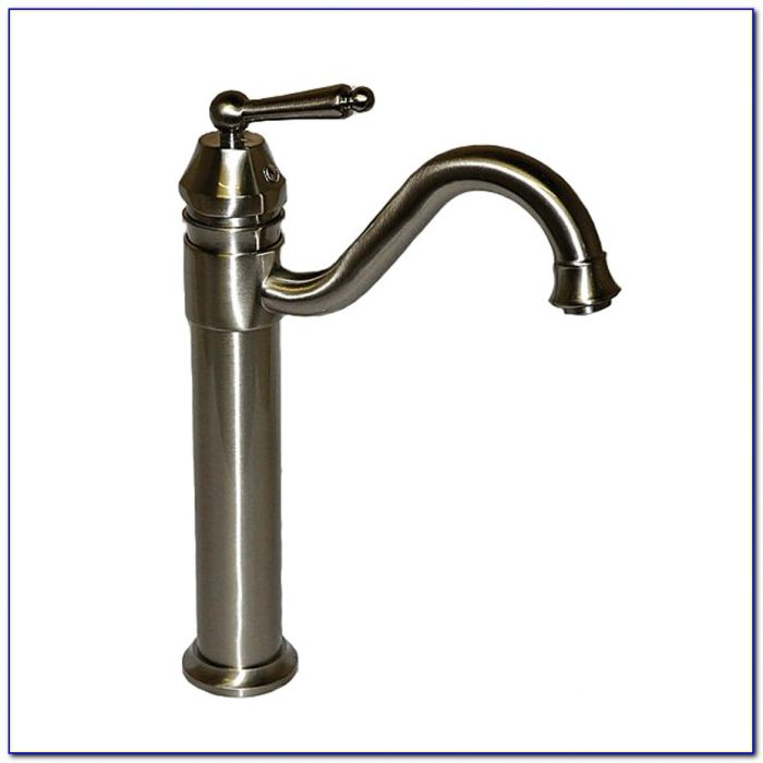 Vessel Sink Faucets Brushed Nickel