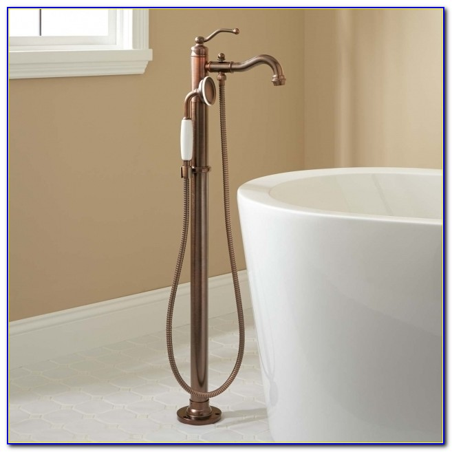 Fascinating Faucet For Clawfoot Tub With Shower Attachment Tub Faucets Clawfoot Tub Faucets Signature Hardware