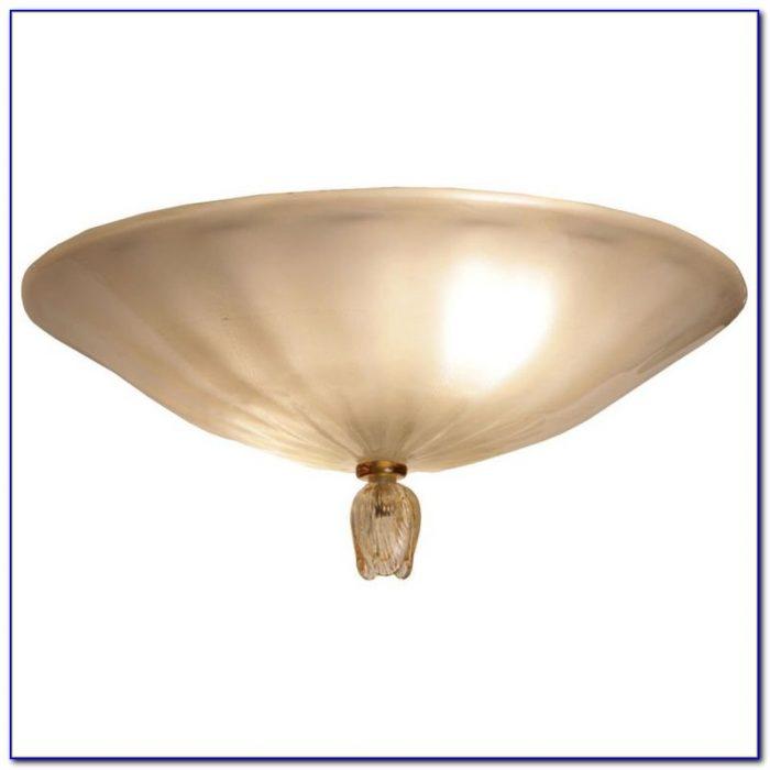 Vintage Murano Glass Ceiling Light