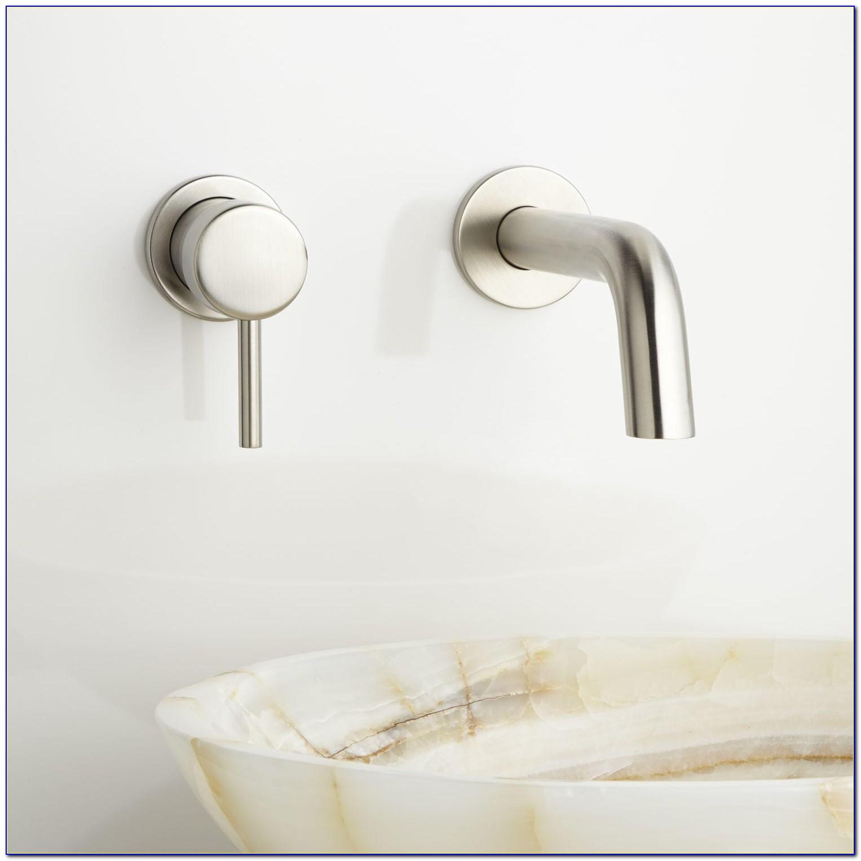 Wall Mount Bathroom Sink Faucet Installation