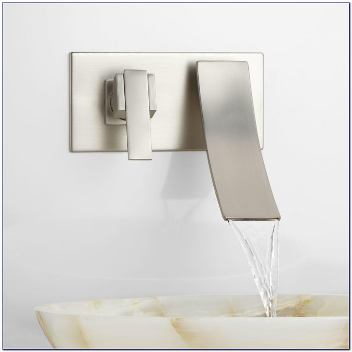 Wall Mount Waterfall Faucet Installation