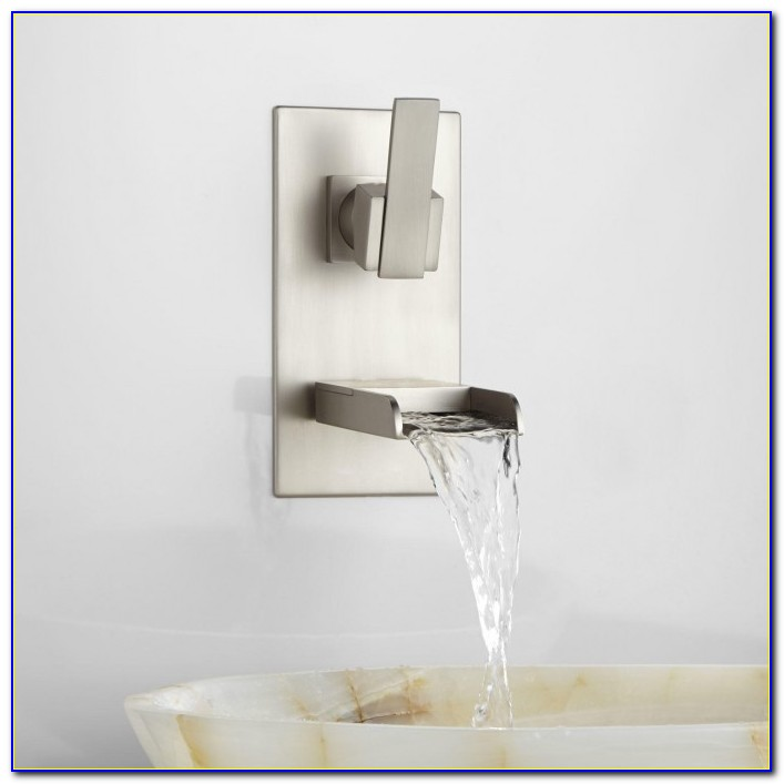 Wall Mount Waterfall Faucet Oil Rubbed Bronze