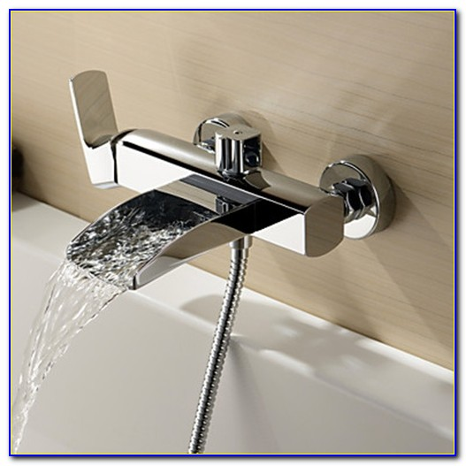 Wall Mounted Bathtub Faucets With Diverter