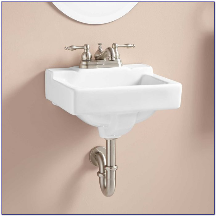 Wall Mounted Sink Faucet Installation