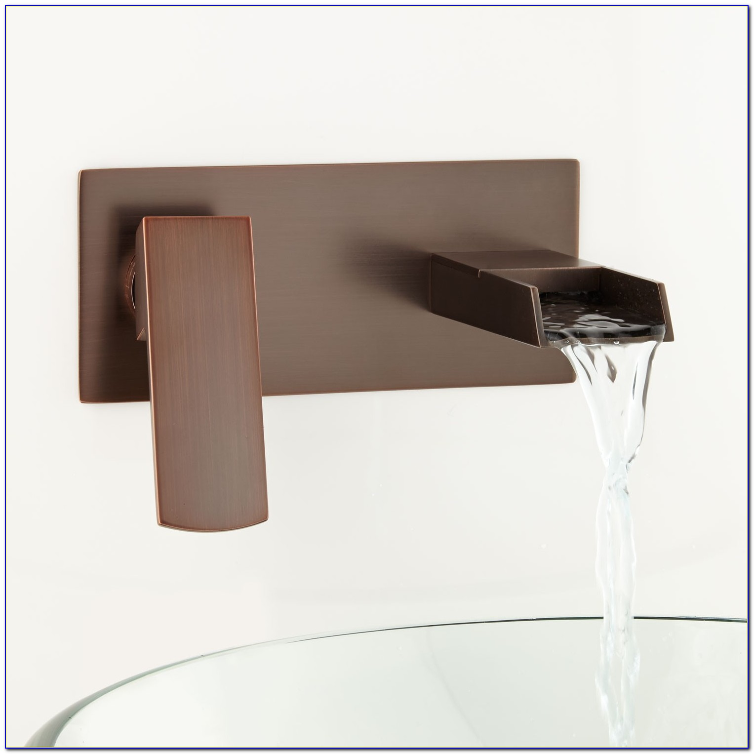 Wall Mounted Waterfall Faucets Bathroom