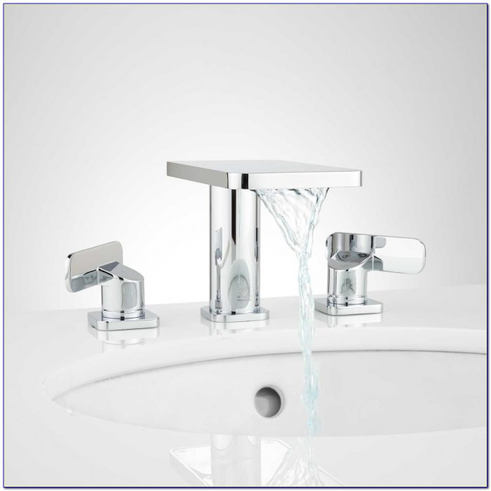 Waterfall Bathroom Sink Faucet Amazon