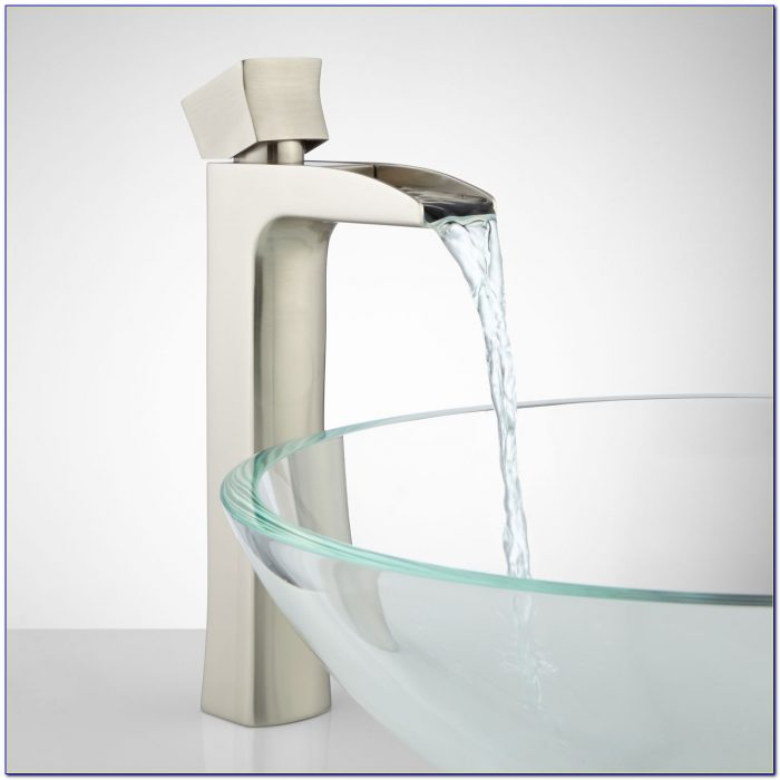 Waterfall Bathroom Vessel Sink Faucet