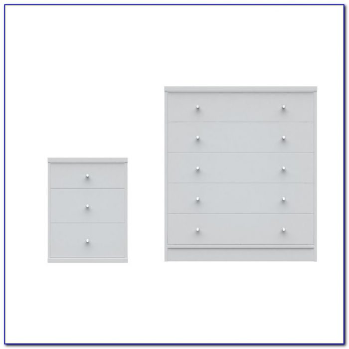 White Dresser And Nightstand Sets