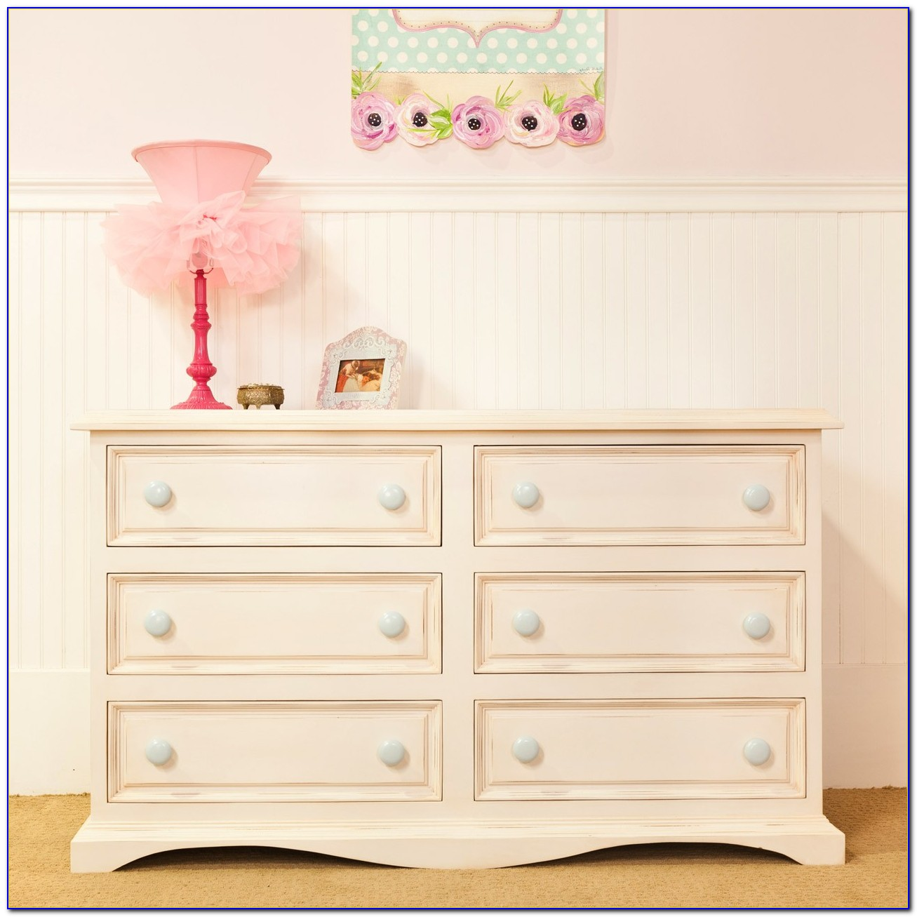 White Dresser For Baby Room