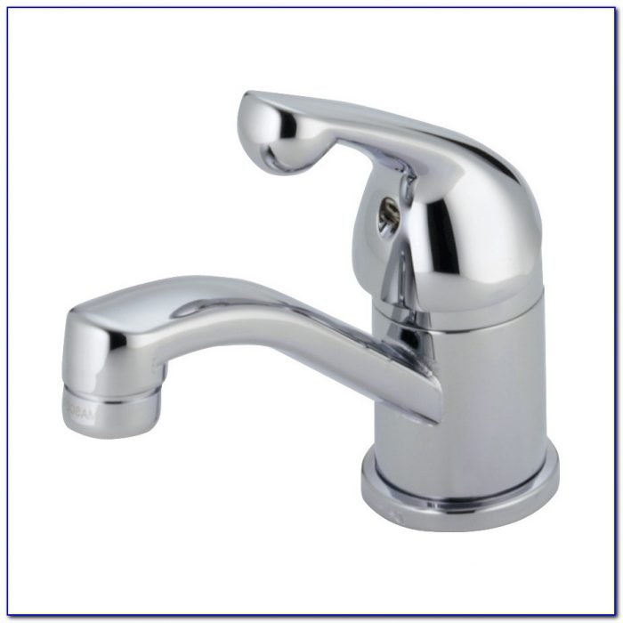 4 Centerset Bathroom Faucet Brass
