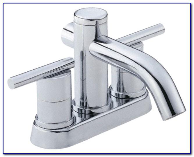 4 Centerset Bathroom Faucet Chrome